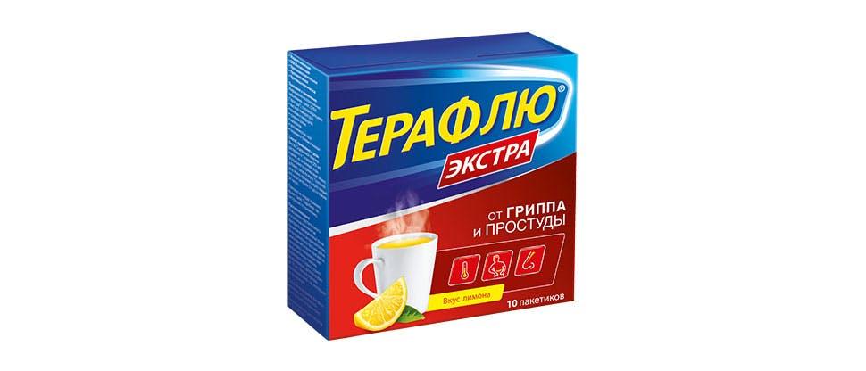Изображение упаковки Терафлю Экстра