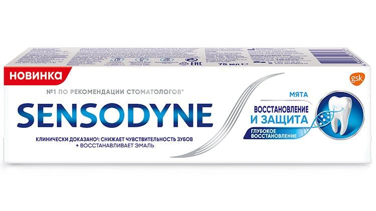 Sensodyne Восстановление и Защита
