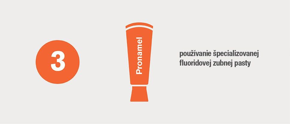 Špecializovaná fluoridová zubná pasta