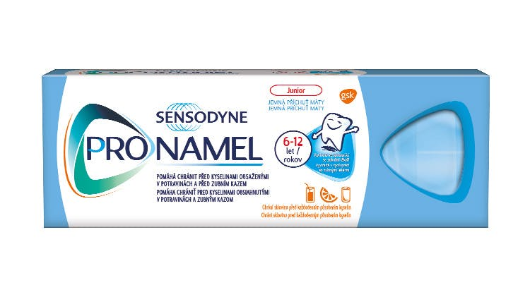 Snímok zubnej pasty Sensodyne Pronamel Junior