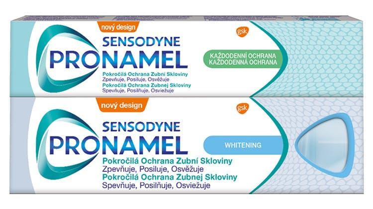 Zubné pasty Sensodyne Pronamel a Pronamel Junior