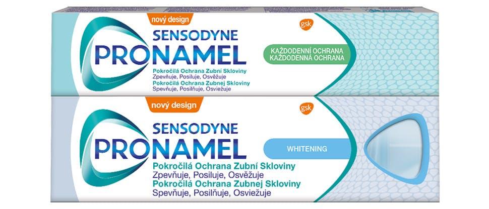 Produkty z rady Sensodyne Pronamel