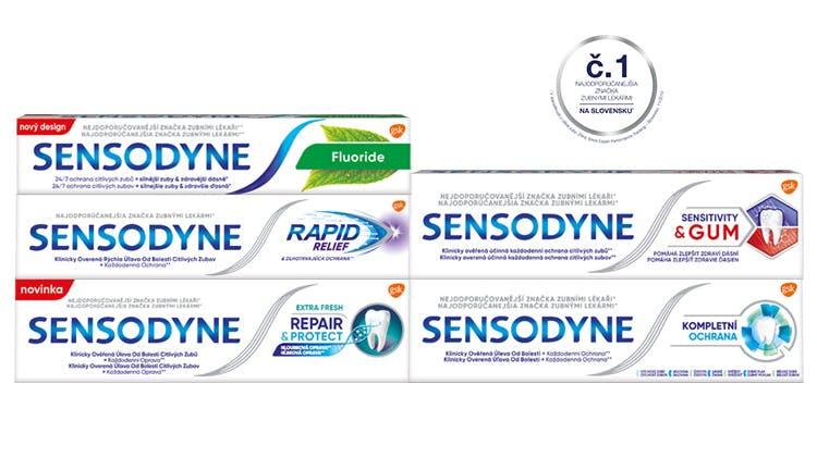 Produkty Sensodyne
