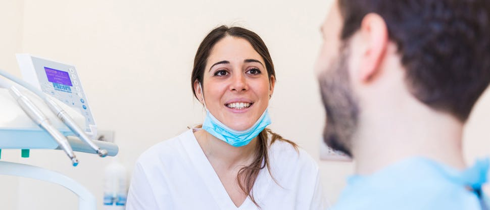 Spokojný pacient aj zubný lekár