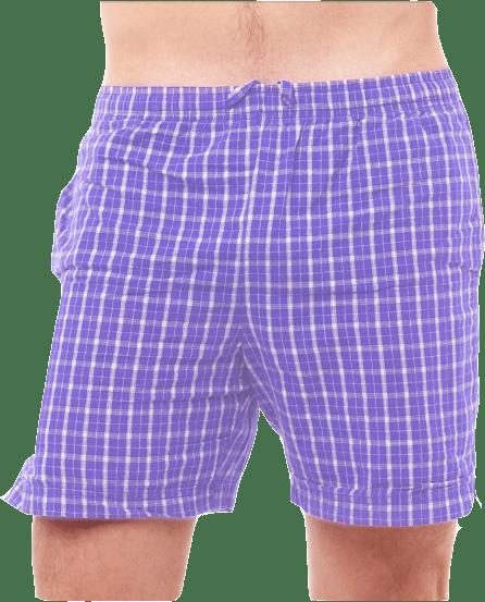 Mann in Unterhose