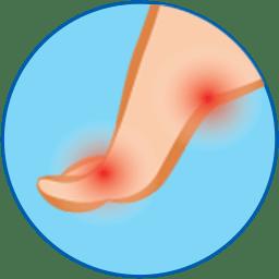 Burning Foot icon