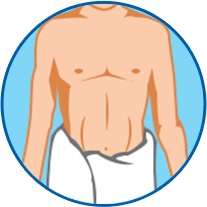 Man In Towel Icon