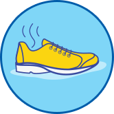 Allow shoes to air dry for 24 hours to help stop athlete's foot (tinea pedis)