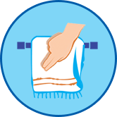 Sharing Towel Icon