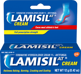 Lamisil Athletes Foot Cream Package