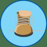 밤색 신발 - 라미실
