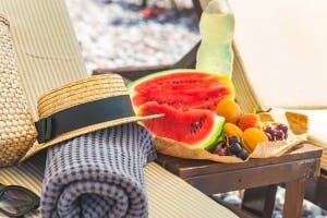 Great Low-Fat Snacks for the Beach
