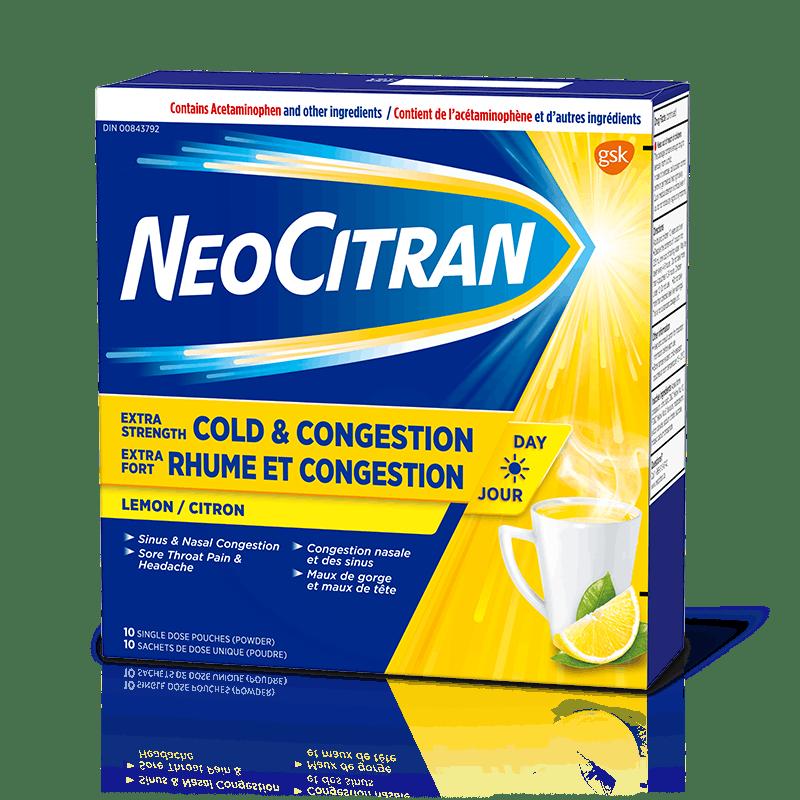 NeoCitran Extra Strength Cold & Congestion Non-Drowsy