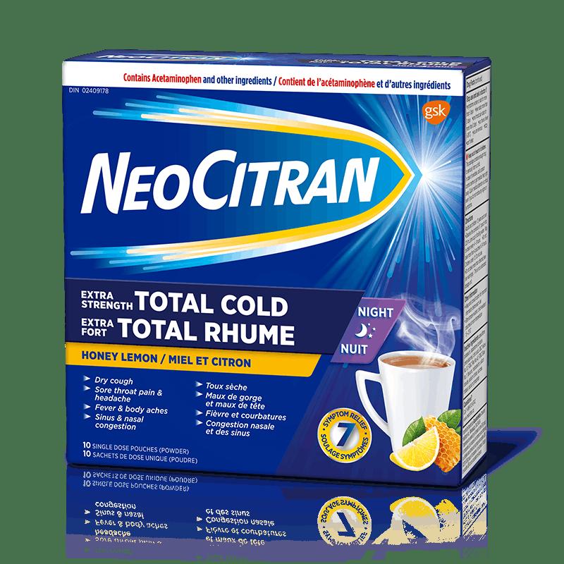 NeoCitran Extra Strength Cold Night