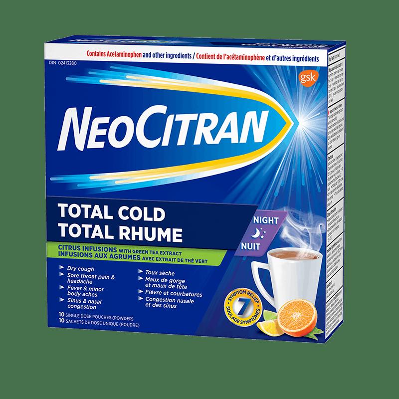 NeoCitran Total Cold Night