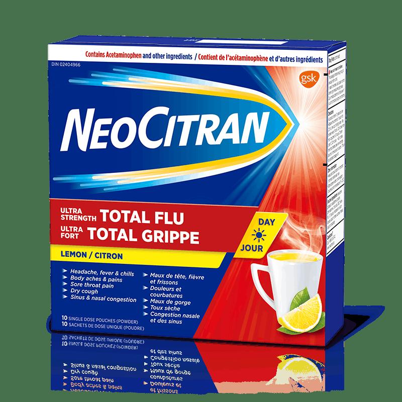 NeoCitran Ultra Strength Total Flu Non-Drowsy