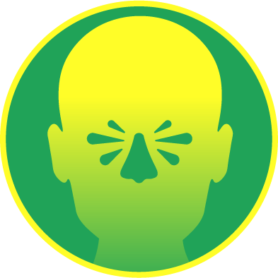 Congestion nasale et des sinus
