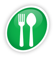 Icon of a knife and fork