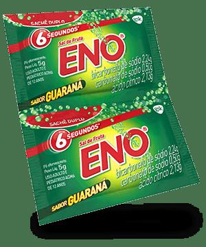 Sal de fruta ENO sabor guaraná 5 g