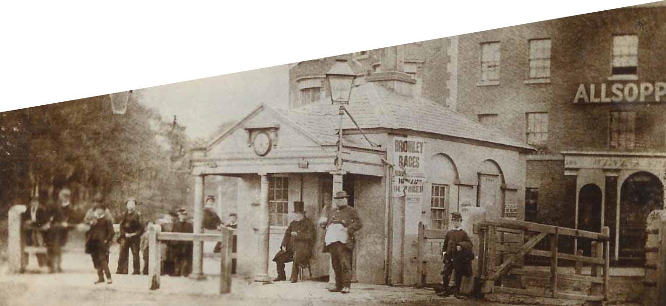 Uma fábrica nos idos de 1850