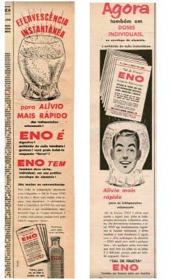 Antigo anúncio do sal de fruta ENO