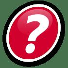 Ícone de ponto de interrogação