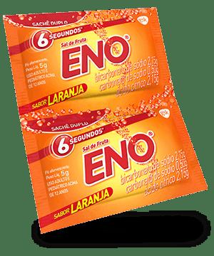 Sal de fruta ENO sabor laranja 5 g