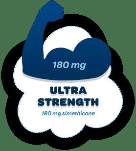 Ultra Strength 180 mg simethicone