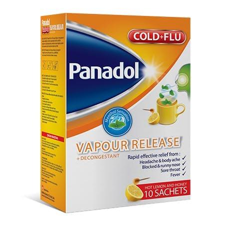 Panadol Cold + Flu Vapour Release + Decongestant