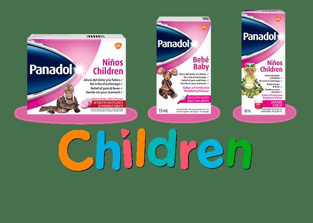 Panadol Children.