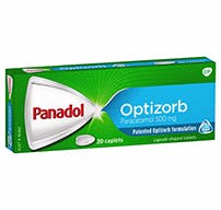 Panadol Caplets With Optizorb Formulation