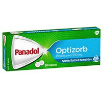 Panadol Tablets With Optizorb Formulation