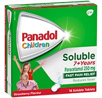 Panadol Soluble 7+