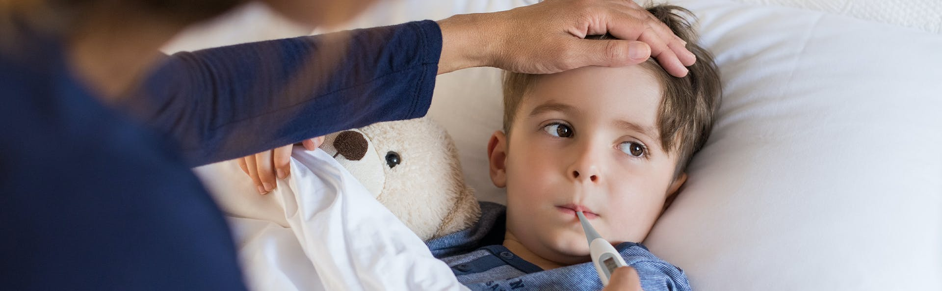 Manage Fever in Babies & Children