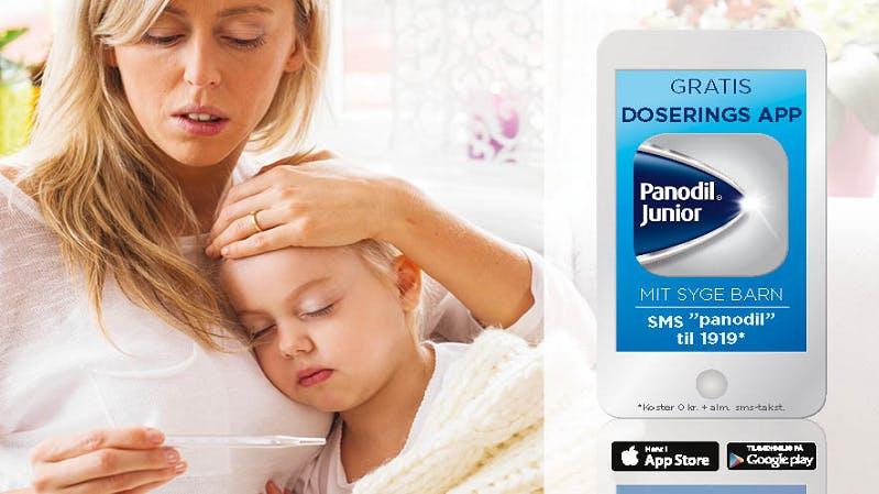 Panodil Junior Doserings App