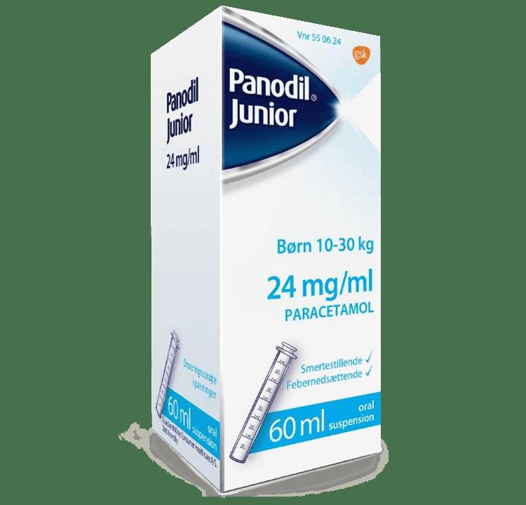 Panodil Junior Mikstur 24 milligram