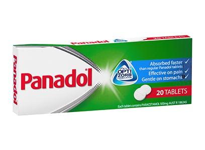 Panadol Tablets with Optizorb