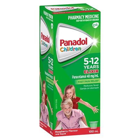 Panadol Elixir 5-12 Years