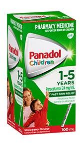 Panadol Children 1-5 Years
