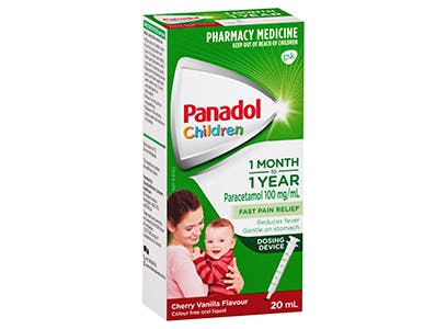 Panadol Colour-Free Baby Drops 1-2 Years