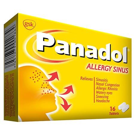 Panadol Allergy Sinus