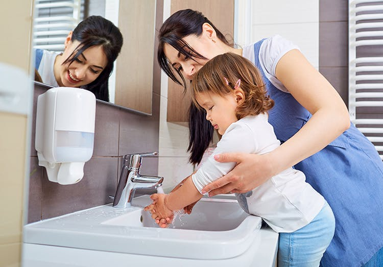 Wash Hands to Stay Healthy