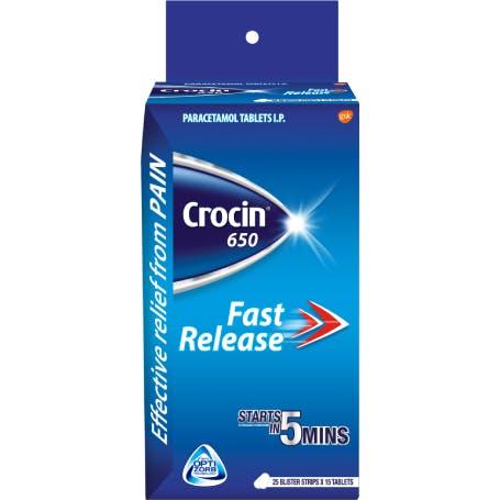 Crocin 650 Tablets
