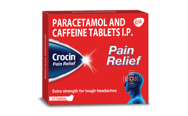 Crocin Pain Relief Tablets