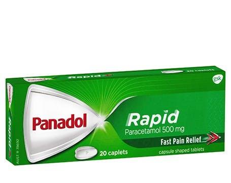 Panadol® Rapid Caplets
