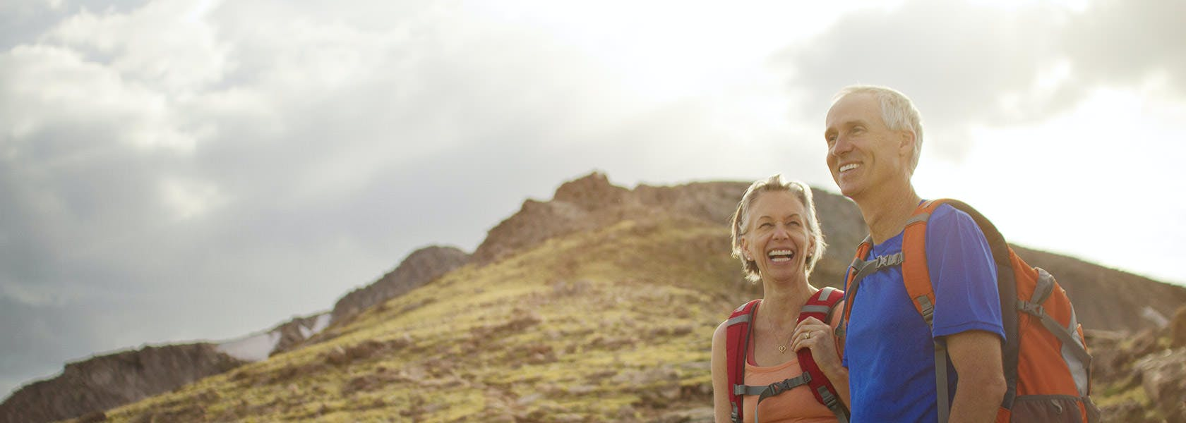 A Couple Hikes Along A Mountain Trail