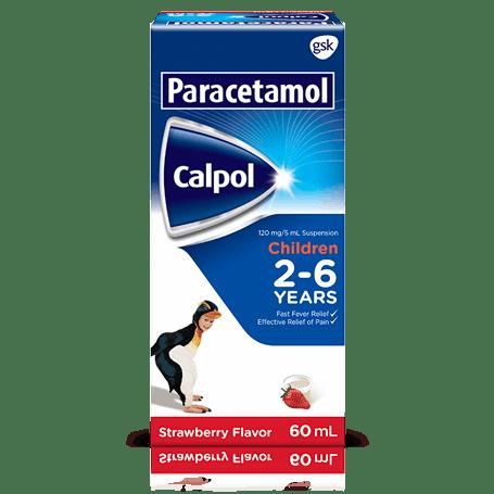 Paracetamol Calpol 2-6