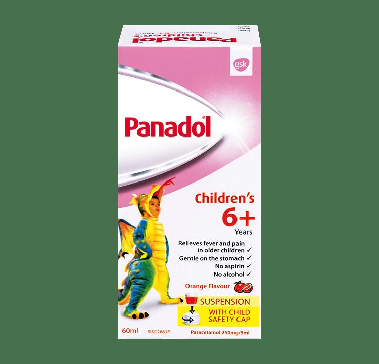 Panadol Children's Suspension 6+
