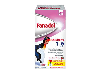Panadol Children's Suspension 1-6 Years