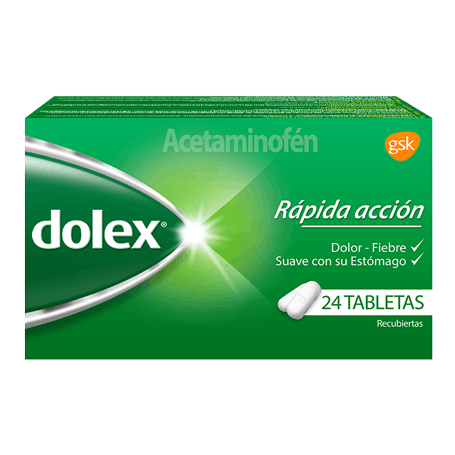 dolex Tabletas Recubiertas